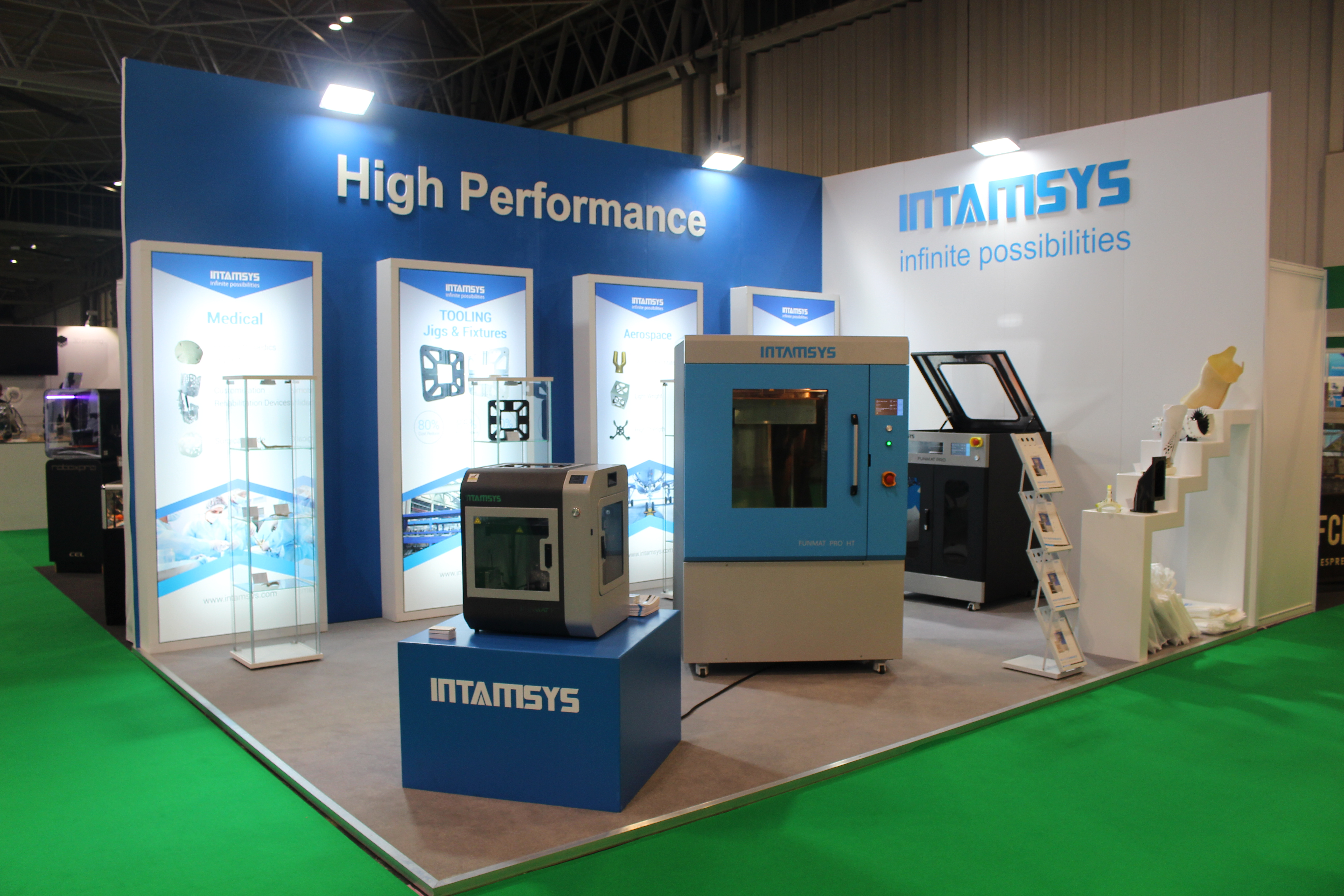Intamsys Booth TCT Show 2018