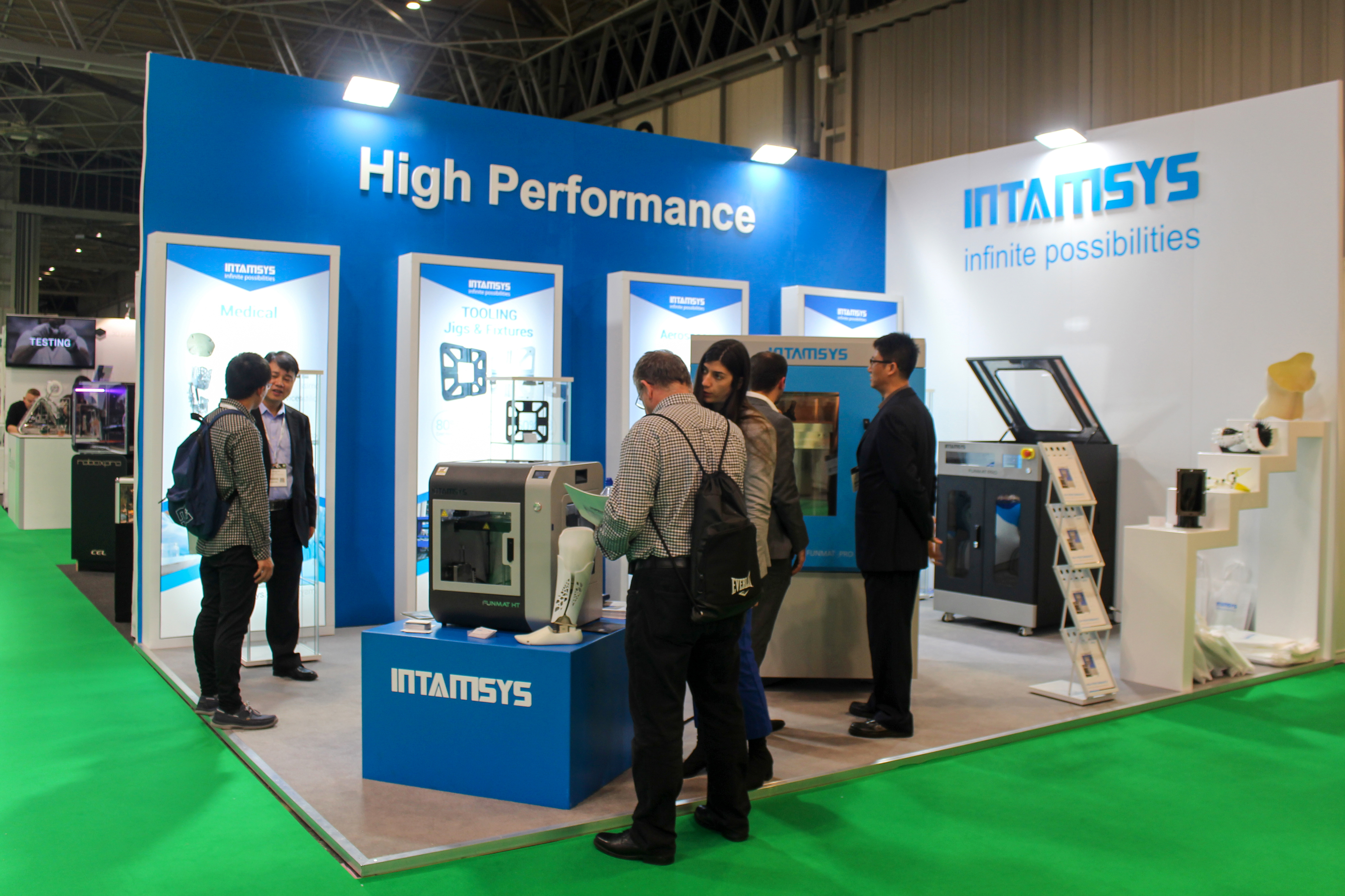 INTAMSYS is delighted to announce its presence at the TCT Show – NEC, Birmingham, UK